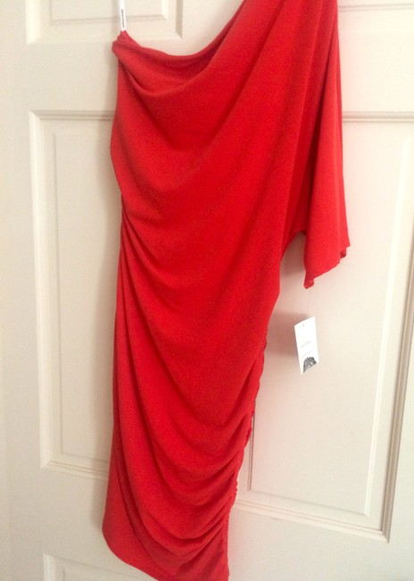 Donna Morgan New With Tags Formal Ruching Dress Image 1