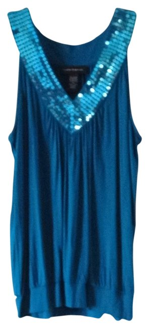 Cable & Gauge Top Blue / Teal