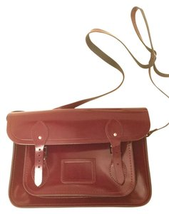 The Cambridge Satchel Company Crossbody New Satchel in Oxblood Red