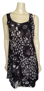 Peter Nygard short dress black and white on Tradesy