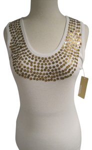 Michael Kors Top White/Gold