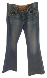 Rich & Skinny Flare Leg Jeans-Medium Wash