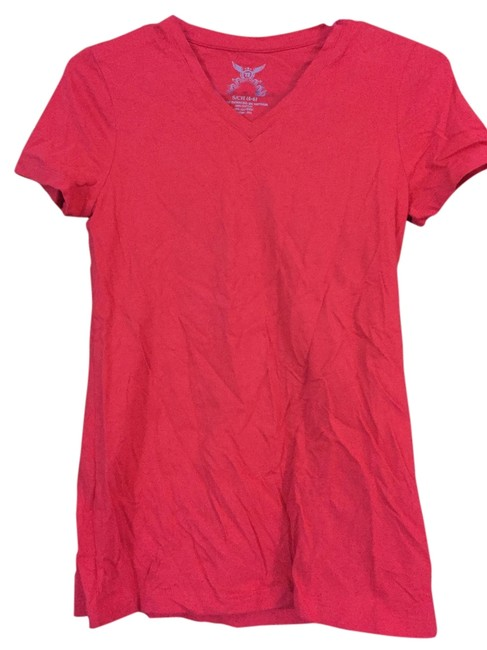 Faded glory red tee shirt size 4 s tradesy for Faded color t shirts