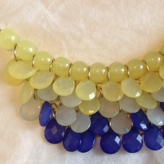 Target Yellow And Blue Necklace