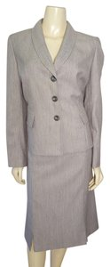 Evan Picone Evan-Picone professional gray skirt suit size 12