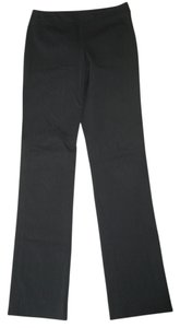 DKNY Charcoal Straight Leg Straight Pants Gray