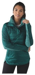 Lululemon Down For A Run Pullover Teal