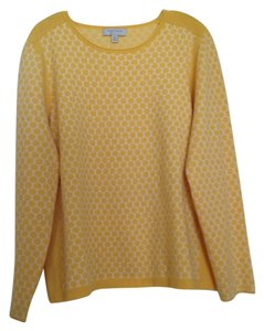 Nordstrom Cashmere Winter Dots Sweater