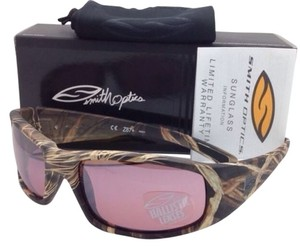 Smith Optics New SMITH OPTICS HIDEOUT TACTICAL Series Sunglasses Realtree Max4 Frame w/Ignitor lenses