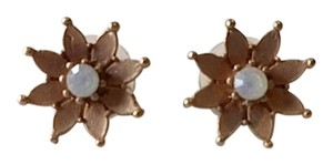 Other Gold and Opal Starburst Earrings