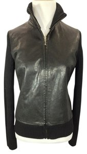 Banana Republic Espresso Leather Jacket