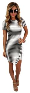 Impressions Boutique short dress White and Black on Tradesy