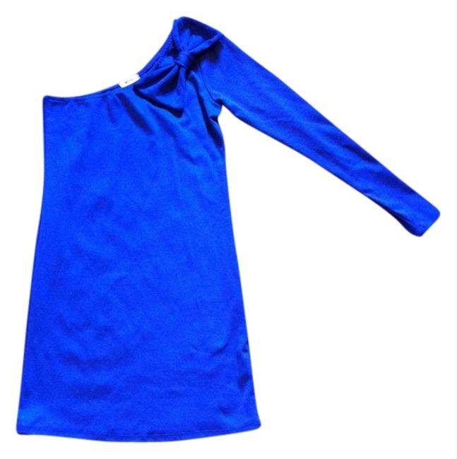 Preload https://item2.tradesy.com/images/everly-one-shoulder-fitted-dress-royal-blue-1221216-0-0.jpg?width=400&height=650