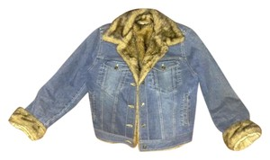 Marvin Richards Blue Denim Womens Jean Jacket