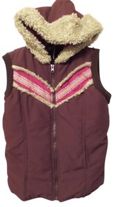 Free People Puffer Sweater Back Vest