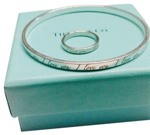 Tiffany & Co. Tiffany & Co. I love You Bangle and Ring