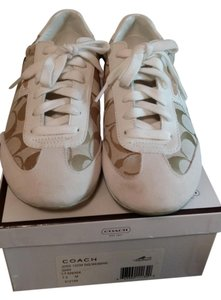 Coach beige and white Athletic
