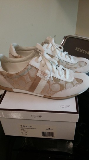 Coach beige and white Athletic Image 2