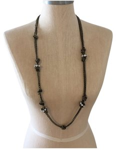 Ann Taylor LOFT Long knot necklace