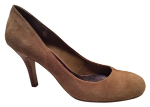 Nine West Suede Pump Camel Pumps