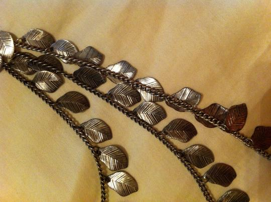 Forever 21 Silver Long Necklace