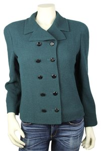Chanel Boutique Forest Green Jacket