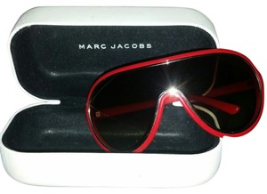 Marc Jacobs Marc Jacobs red aviator sunglasses