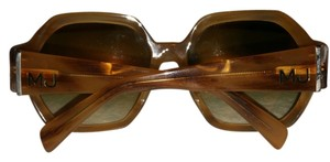 Marc Jacobs Marc jacobs rachel woodgrain brown big sunglasses