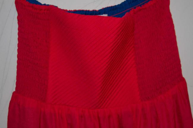 Fire short dress Red and Blue on Tradesy