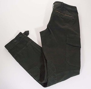Ralph Lauren Blue Label Womens Army Stretch Military X Cargo Pants Green