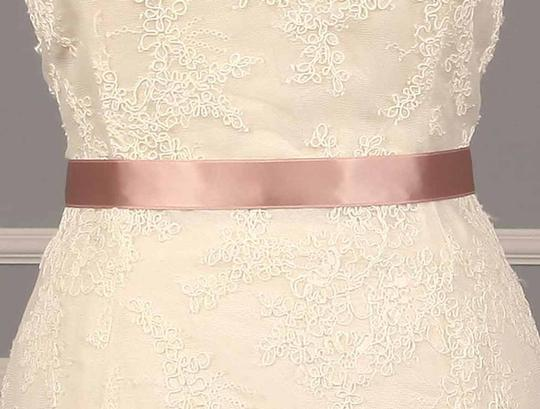 Misty Rose Pink Your Dream Dress Exclusive Double Faced Ribbon Sash