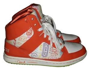 Coach Norra Sneakers Hightop orange Athletic