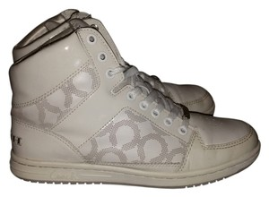 Coach Norra High Top Sneaker white Athletic