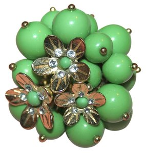 Pier 1 Imports Pier 1 Green Floral Ring