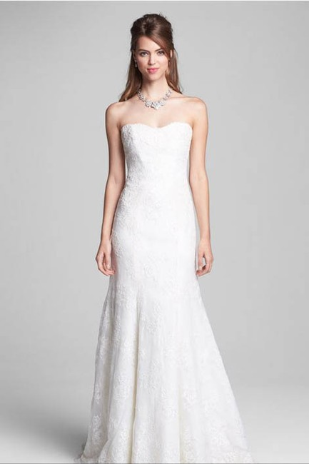 Item - Ivory Lace Ml Classic Collection Bliss Bl1304 1304 Vintage Wedding Dress Size 6 (S)