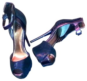 Bakers Metallic Blue Pumps