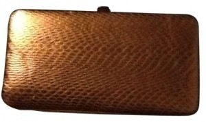 Amici Accessories Gold Clutch