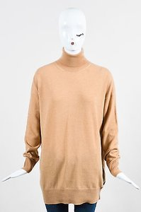 Gucci Cashmere Long Sleeve Turtleneck Oversized Sweater