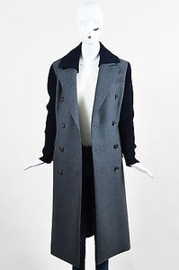 Dior Christian Navy Wool Pea Coat