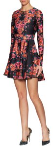 Torn by Ronny Kobo short dress Stretchy Longsleeve Print on Tradesy