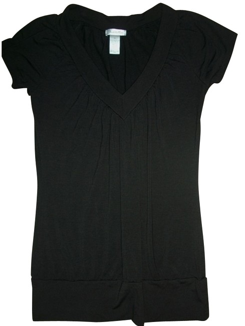 Preload https://item3.tradesy.com/images/charlotte-russe-black-tunic-size-6-s-1222-0-0.jpg?width=400&height=650