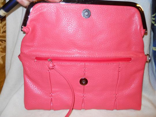 Jessica Simpson Man Made Clutch Cross Body Bag Image 3