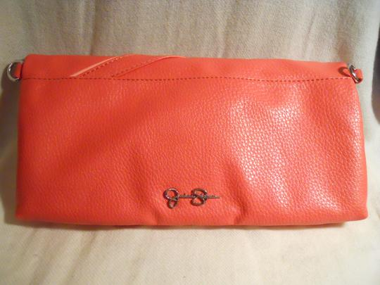 Jessica Simpson Man Made Clutch Cross Body Bag Image 5