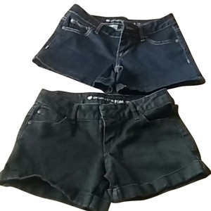Celebrity Pink Mini/Short Shorts Black and blue