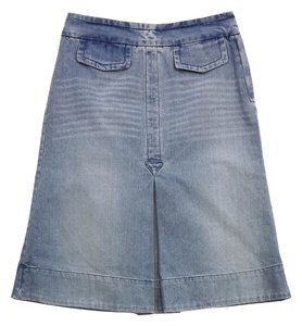 Marc Jacobs Vintage Cotton Denim Skirt