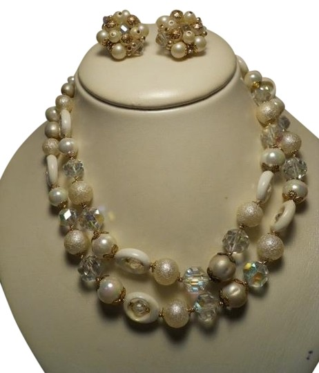 Preload https://item1.tradesy.com/images/vintage-vendome-and-earrings-necklace-1222075-0-0.jpg?width=440&height=440