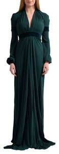 Emerald Green Maxi Dress by Just Cavalli