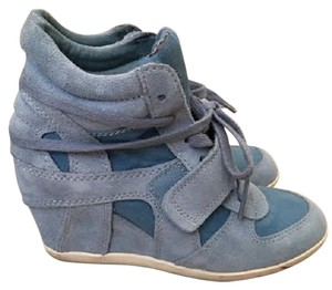 Ash Sneakers Bowie Blue Wedges