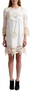 Just Cavalli short dress Cream on Tradesy