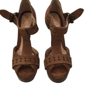 Fendi Brown suede Platforms